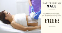 FAT FREEZING SALE - Buy ANY # of Areas, Get SAME # Areas FREE!