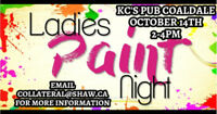 Ladies Paint Event!