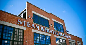 Gift Certificate for Steam Whistle VIP Brewery Tour