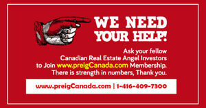 We need your HELP  from Real Estate professionals in GTA