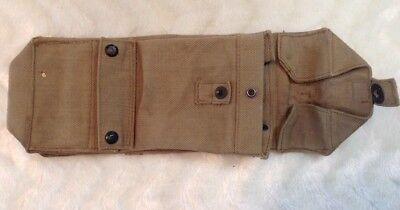 Größere Gürteltasche Tasche Kartentasche Militär England? Krone