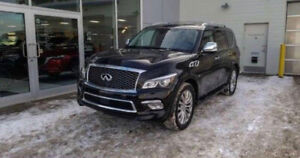 2016 Infinity QX80 Tech package with low kilometres