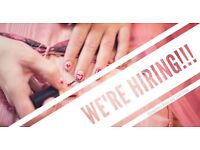 Wanted experienced nail technician
