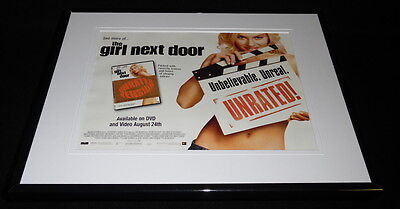 Girl Next Door 2004 Framed 11x14 ORIGINAL Advertisement Elisha Cuthbert