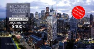 Garden District Condos Ryerson U Toronto ★ Move in 2022 VIP SALE