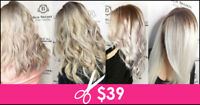 Wash, Cut & Style with Junior Stylist $39 in professional salon