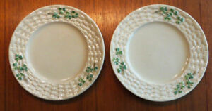 Belleek Plates Second Black Mark
