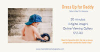 Dress Up for Daddy: Father's Day Mini Sessions