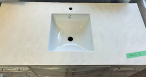 """50"""" Solid Surface COUNTERTOP & SINK"""