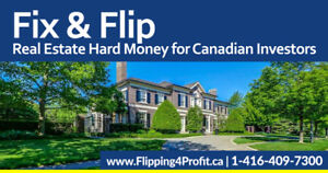 Private Hard Money Lenders for Fredericton Investors