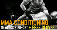 10 Week MMA Conditioning Class (no contact) for $129.99