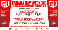 Canada Day Baseball Tournament