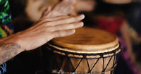 PLANNING A DRUMCIRCLE IN HARVEST HILLS ,PANORAMA