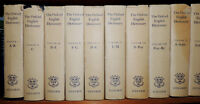 Oxford English Dictionary with Supplements - 15 Volume Set