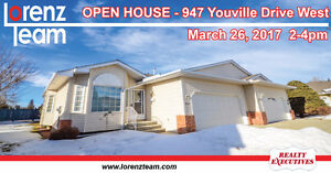 OPEN HOUSE! 947 Youville Drive W in Edmonton - March 26th 2-4pm