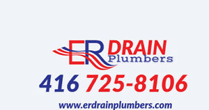 Hamilton Plumber Drain camera inspection. Clogged Drain cleaning