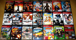 Buy More - Get Some FREE - PS2 Games - $10 to $15 - Same as NEW