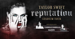 Taylor Swift in Toronto Aug. 4 (below market cost- pairs only)