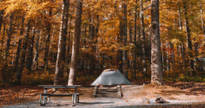 Looking for private land to go fall & winter camping