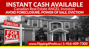 Instant Cash available for your house in Brockville