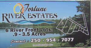 Prince Edward Island (PEI) Waterfront Lots (Fortune River)