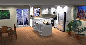 Made to measure Kitchen cabinets/Armoires de cuisine sur mesure