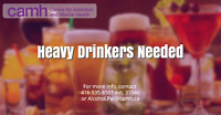 Looking for non-smoking heavy drinkers