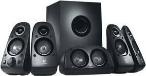 Logitech Z506 Stereo Surround Sound 5.1 Channel Speakers Clayton Monash Area Preview