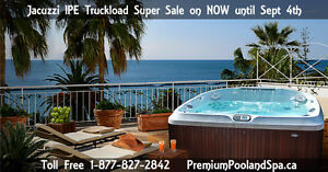 Jacuzzi IPE Truckload Sale on NOW!