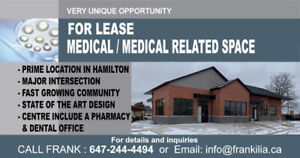 Medical - Healthcare Space for Lease - Family Doctor Office