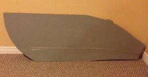 HO Scale Custom Made Railway Model Concrete Siding Section
