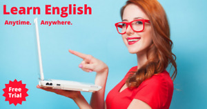 FREE TRIAL - Online English Academy - Learn Anytime, Anywhere