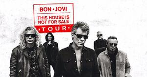 AMAZING JON BON JOVI CENTRE FLOOR TICKETS !!!