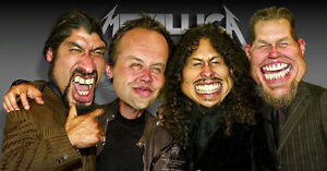 Metallica two tickets Lower bowl Section O row 19