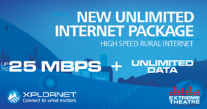 25Mbps Rural Highspeed Internet with UNLIMITED DATA!!!!!!!