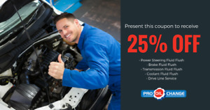 Save BIG At Pro Oil Change-Coquitlam! This Weekend ONLY!