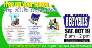 RECYCLE what didn't sell @ garage sale - FREE Oct. 19 , Orleans