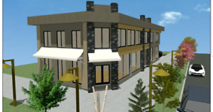 Medical/retail/coffee shop Building FOR LEASE/SALE
