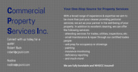Commercial Property Services Inc. wants to partner with you!