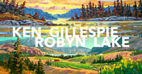 Ken Gillespie & Robyn Lake Show Opening