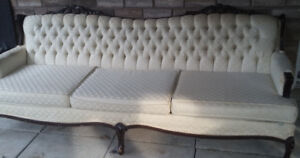 ***PRICE DROP!!!***  FRENCH PROVINCIAL SOFA $60 OBO!