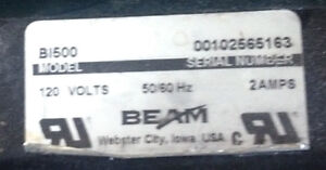 Beam (Imperial) Electric Swivel  Powerbrush  B1500 & attachments Windsor Region Ontario image 3
