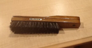 Antique Neiman Marcus wood shoehorn and brush Windsor Region Ontario image 2