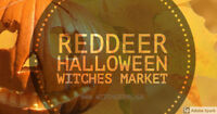 Halloween Red Deer Witches Market