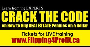 Investors LIVE  Real Estate Seminar Norfolk County
