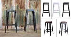 $69 Tolix Style Industrial Bar Stool Counter Restaurant Chair