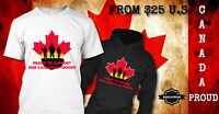 EXCLUSIVE DESIGN FOR OUR LOVE FOR OUR CANADIAN TROOPS!!