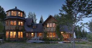 Horse Lovers' Dream! European Style Custom Home on 10 Acres