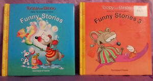 Funny Stories & Funny Stories 3 Hardcover(Toopy and Binoo)