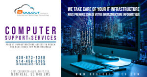 Service Informatique et Support / Computer Services and Support